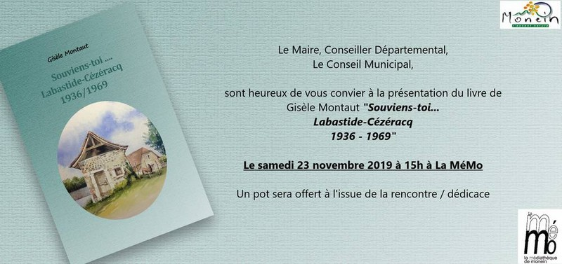 Rencontre avec Gisèle Montaut - MONEIN