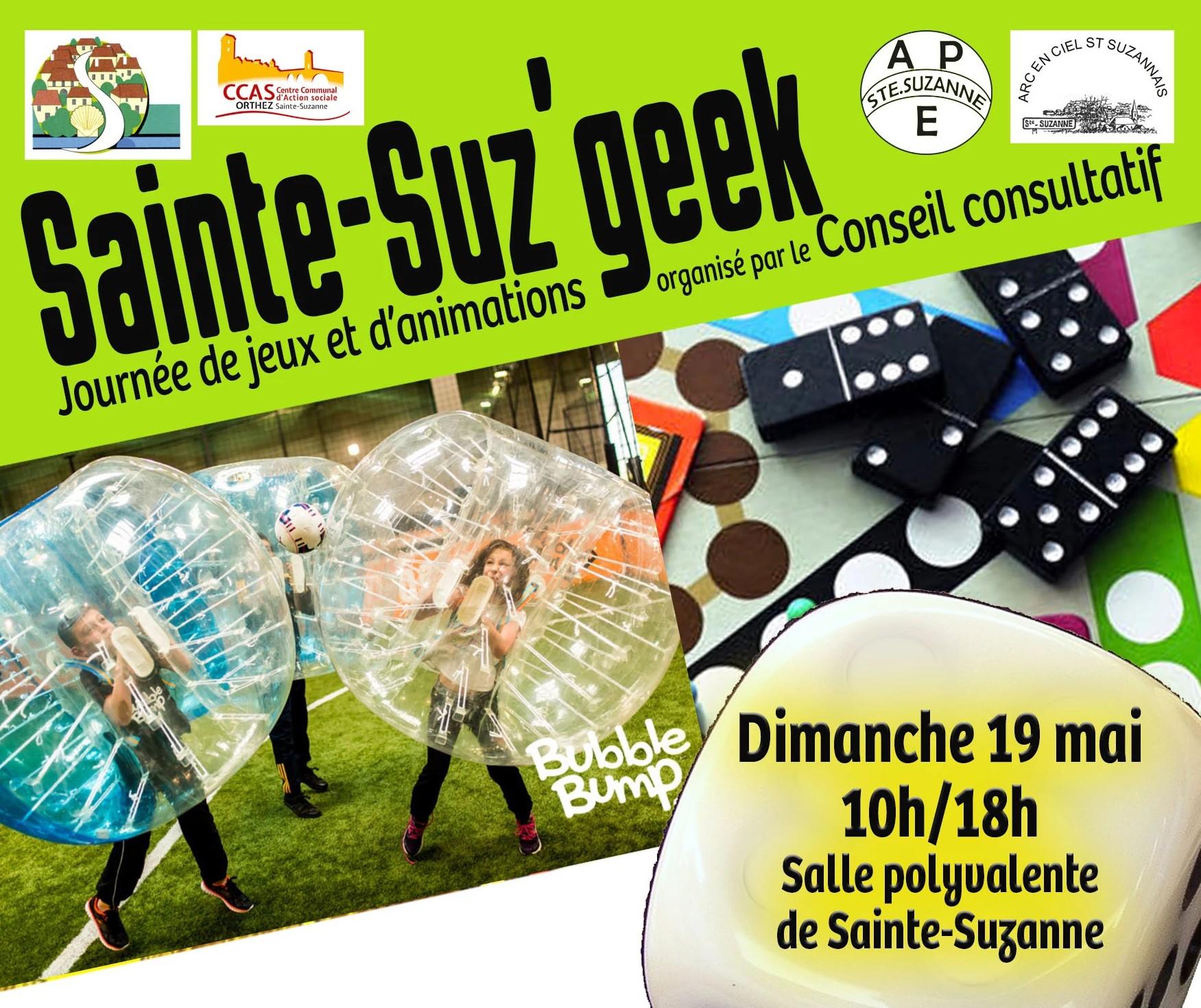 Sainte-Suz'geek - ORTHEZ