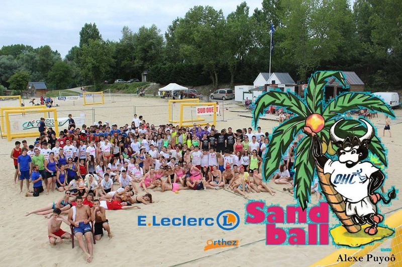 Tournoi de Sand Ball - ORTHEZ
