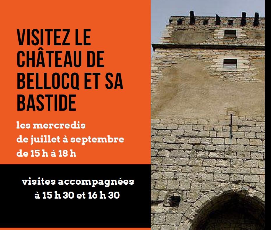 Visite accompagnée du Château et de sa bastide - BELLOCQ