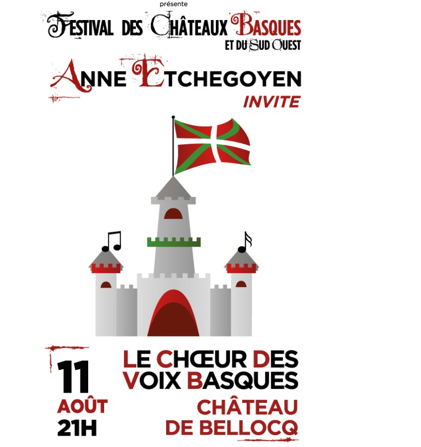 Concert Anne Etchegoyen et le choeur des voix basques - BELLOCQ