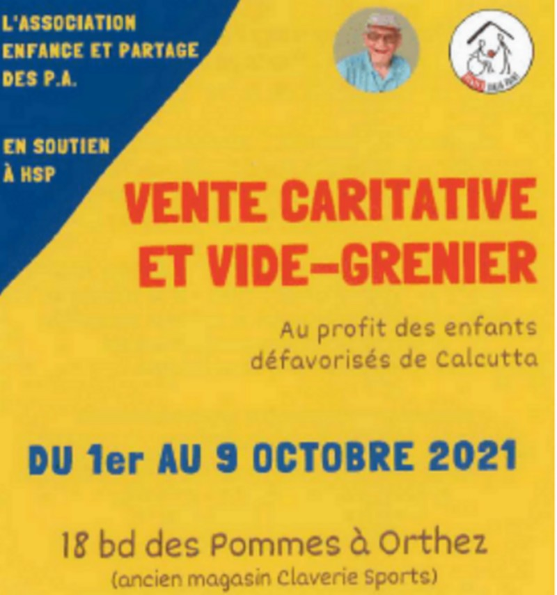 Vente caritative-vide grenier - ORTHEZ