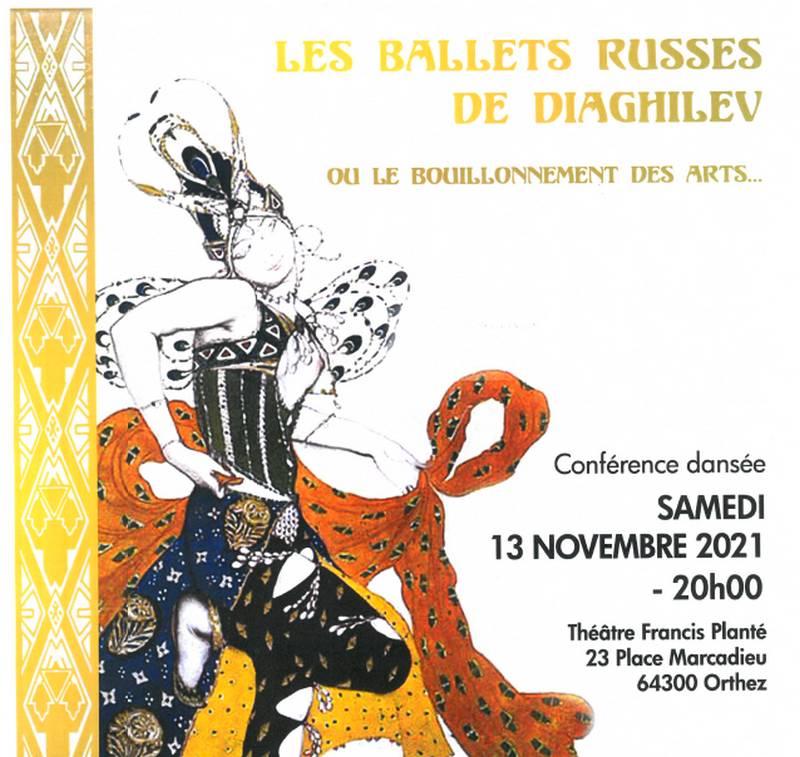 Conférence dansée : Les ballets russes de Diaghilev - ORTHEZ