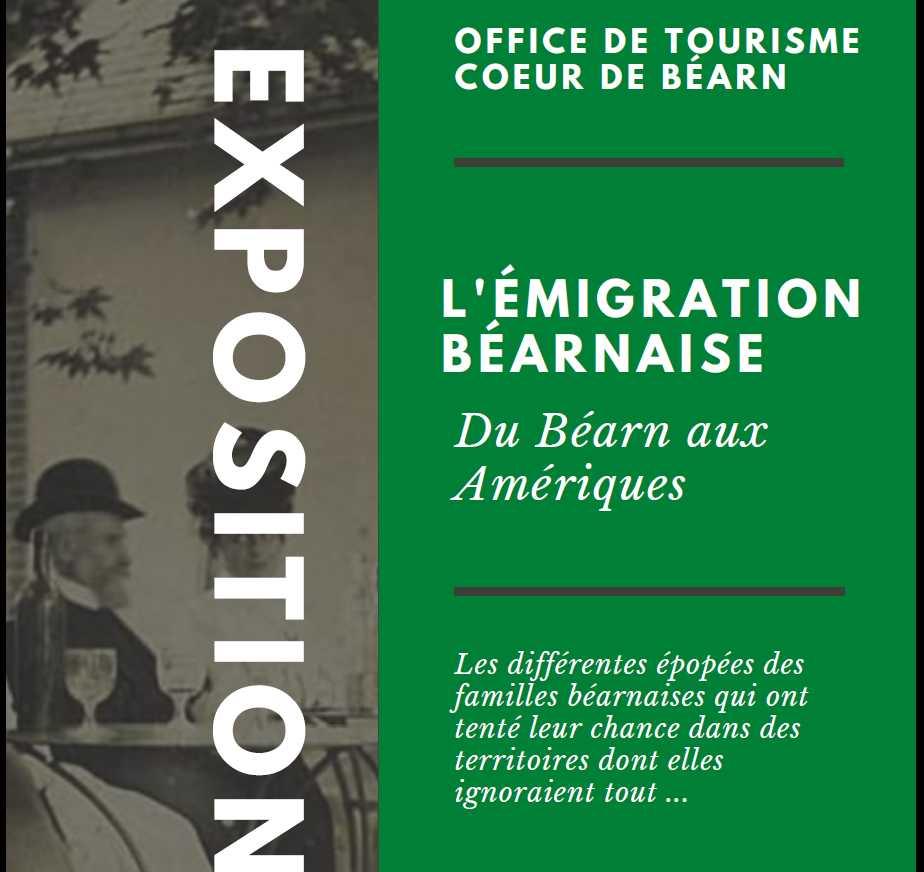 Exposition : L'émigration béarnaise, du Béarn aux Amériques - ORTHEZ