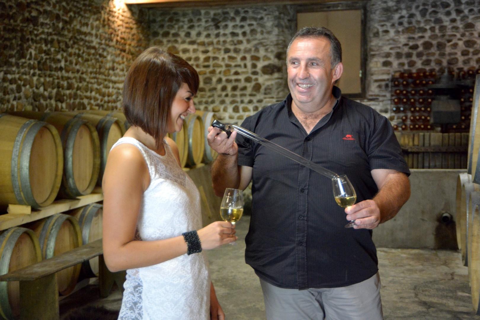Visite et dégustation accord mets et vin : Clos Laplume - MONEIN