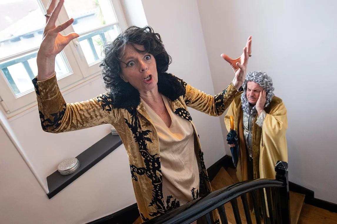 Les Théâtrales : Théâtre - Feu la mère de Madame - MONT