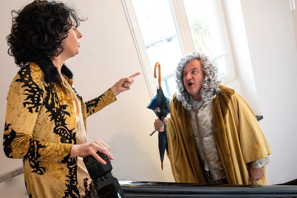 Les Théâtrales : Théâtre - Feu la mère de Madame - LUCQ-DE-BEARN