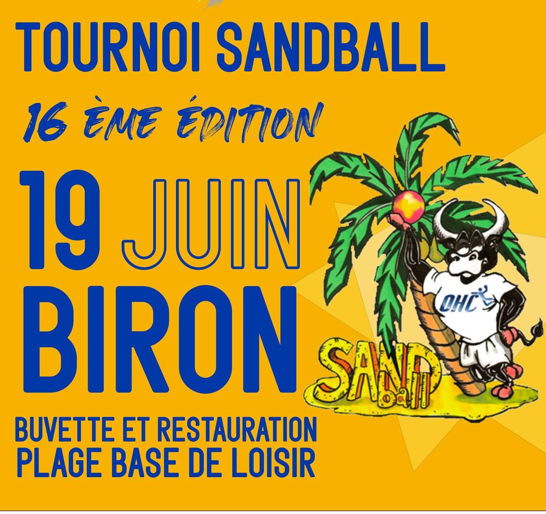 Tournoi sandball - ORTHEZ