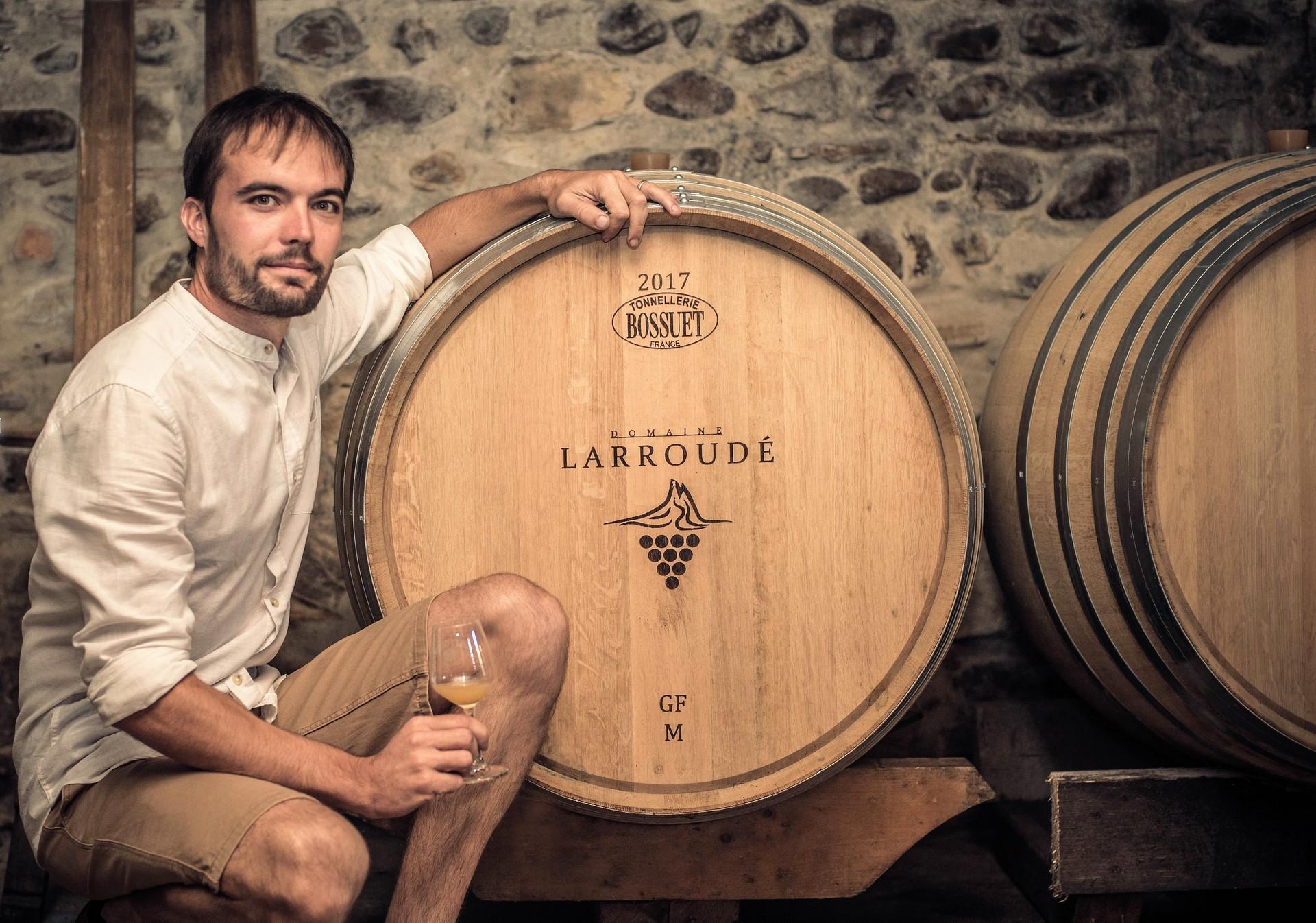 Visite et dégustation accord mets et vin : Domaine Larroudé - LUCQ-DE-BEARN