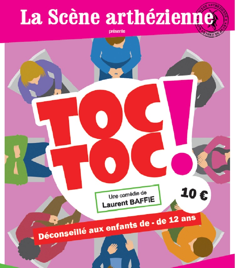 Spectacle : Toc Toc - ORTHEZ