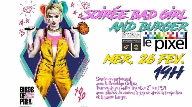 Soirée Bad girl and burger - ORTHEZ
