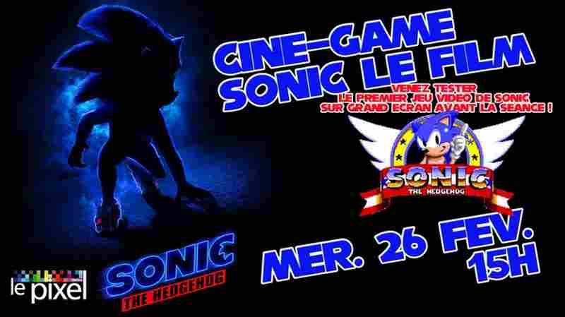Ciné-game : Sonic le film - ORTHEZ