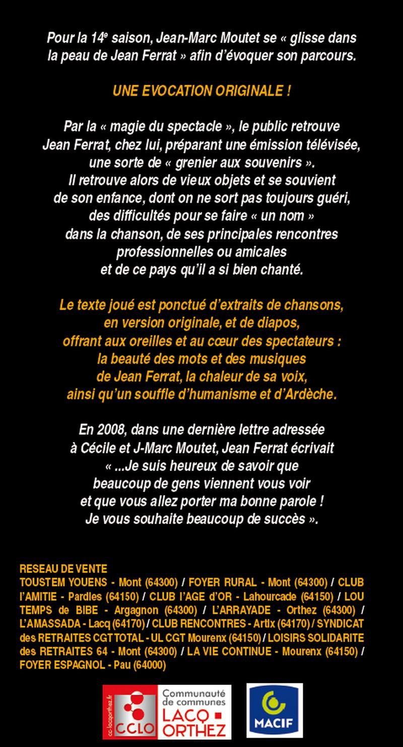 Spectacle : Jean Ferrat - MONT