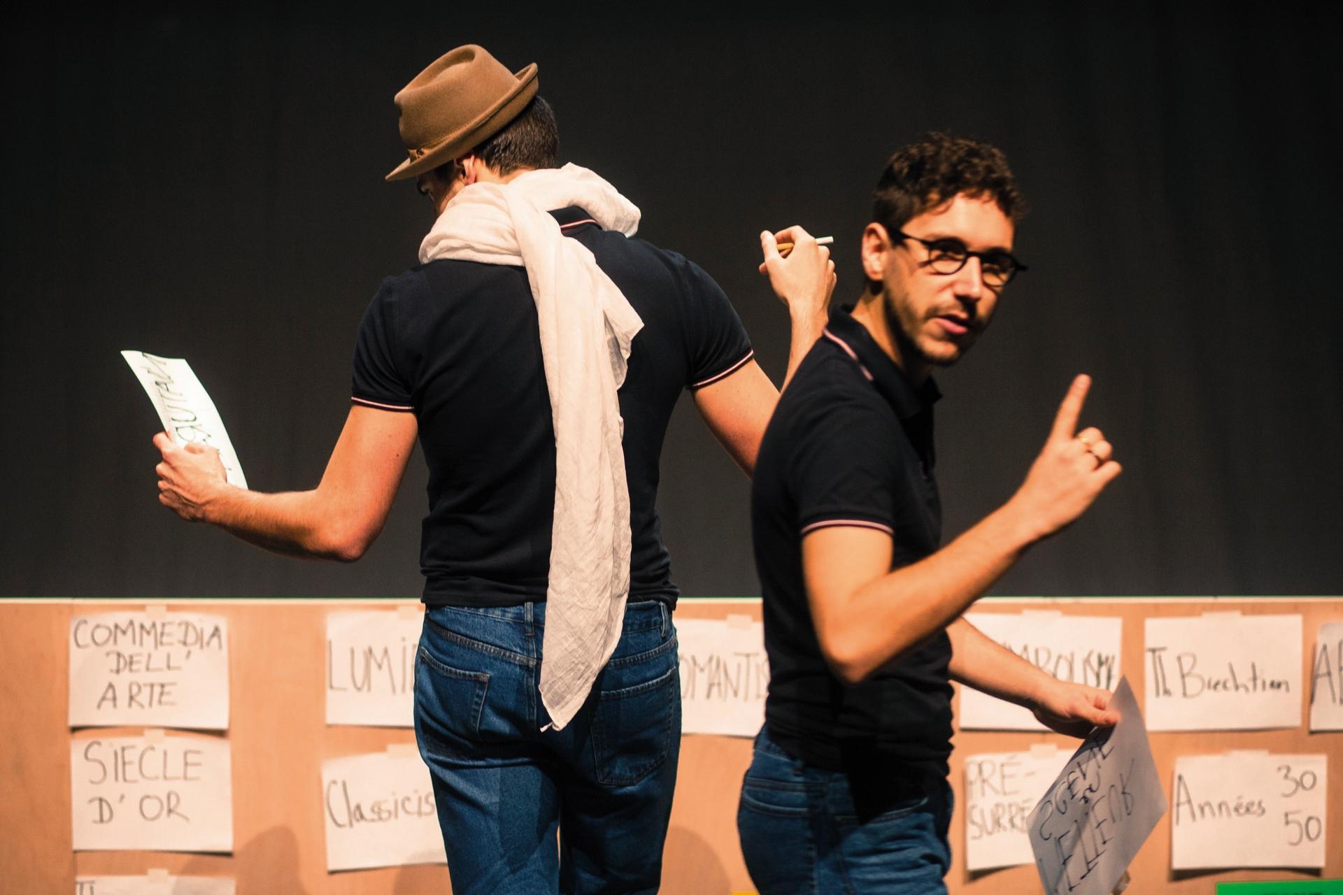 Théâtre : Le tour du théâtre en 80 minutes - ORTHEZ