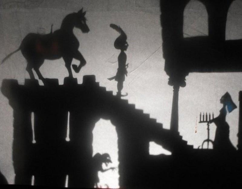 Orthez en noir et blanc : Atelier Théâtre d'Ombres - ORTHEZ