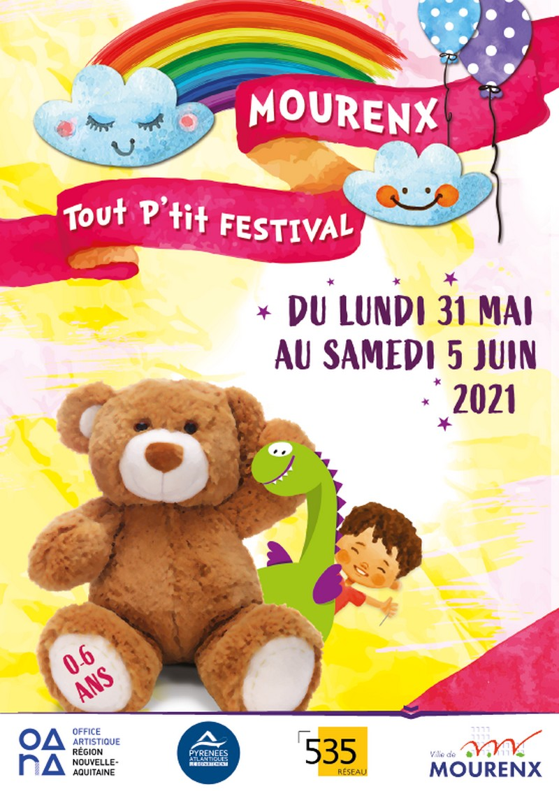 Tout P'tit festival : Pinceaux tout en couleurs - MOURENX