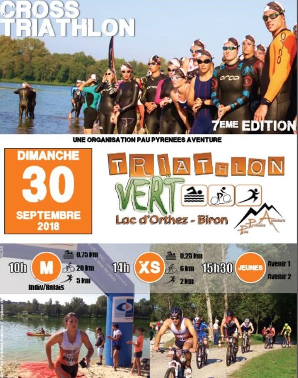 Triathlon Vert - ORTHEZ