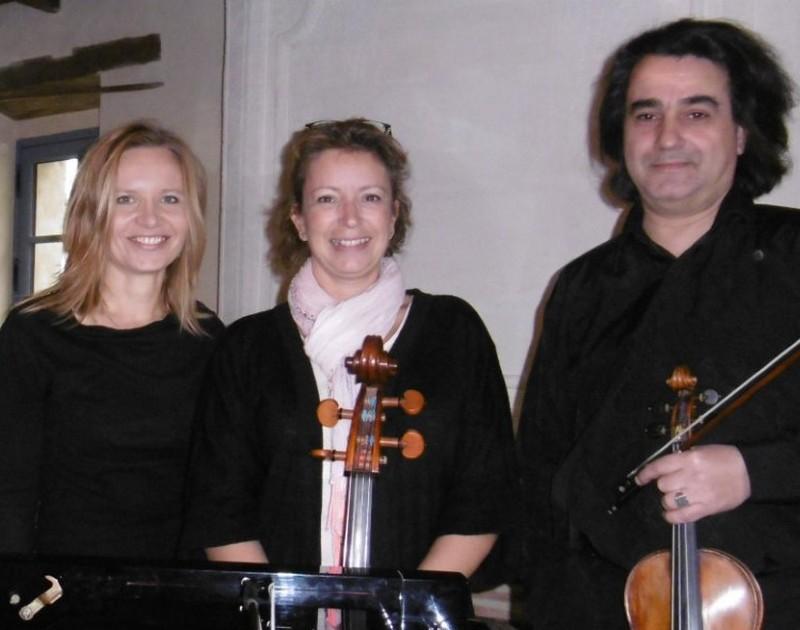 Partitions bucoliques - Concert : Trio chant violon piano - ARTHEZ-DE-BEARN
