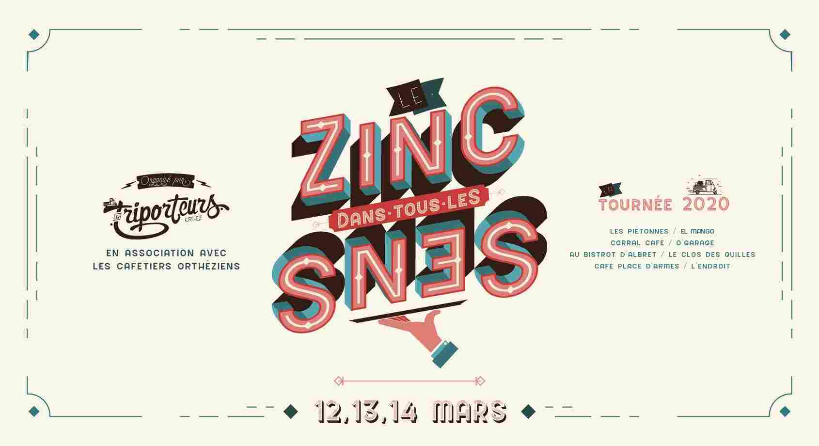 Le Zinc dans tous les Sens : Concert Afterwork'n roll - ORTHEZ