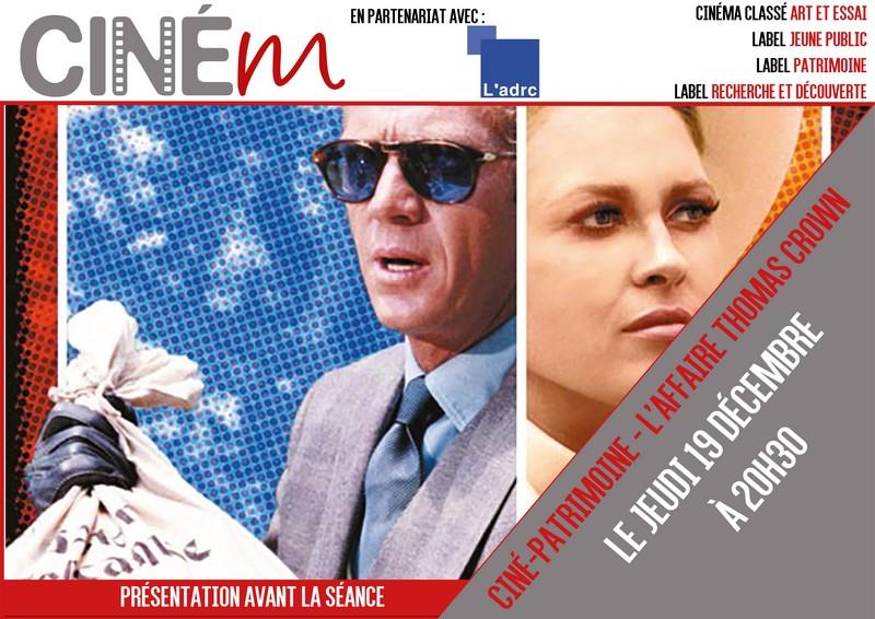 Ciné-patrimoine : L'affaire Thomas Crown - MOURENX