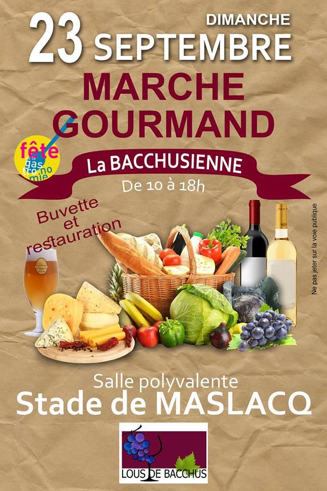 Marché gourmand : La Bacchusienne - MASLACQ