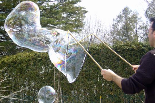 Atelier: Faites des bulles de savon géantes - MOURENX