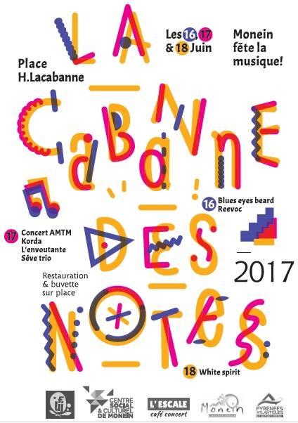 Festival La Cabanne des Notes - MONEIN