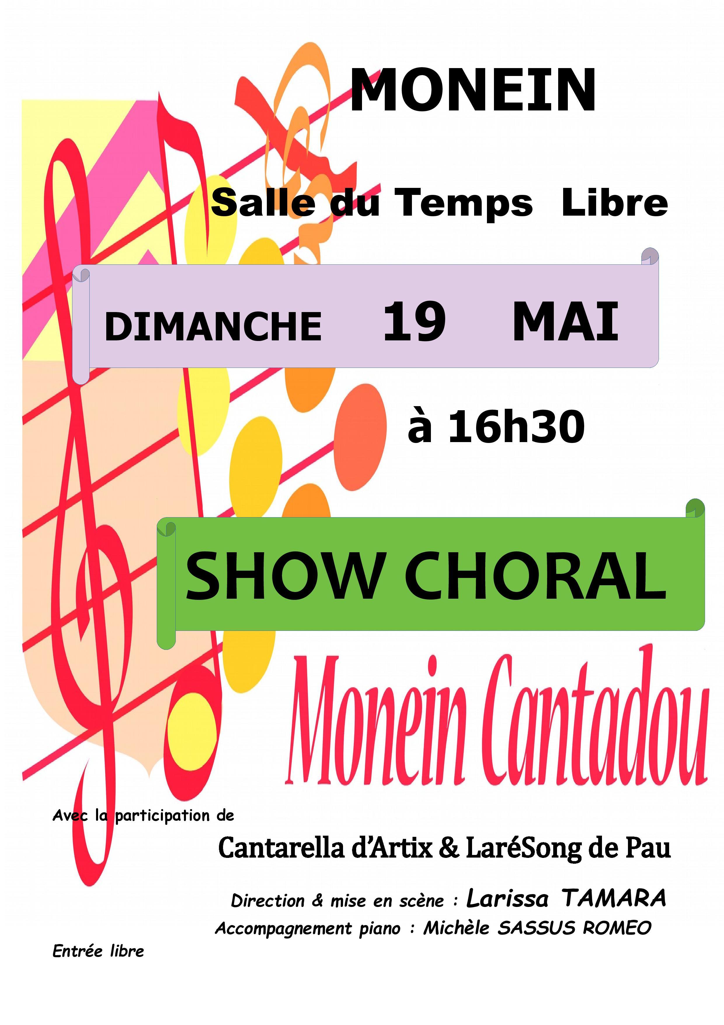 Show Choral - MONEIN