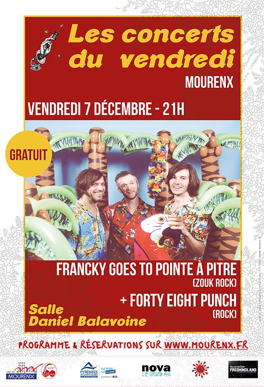 Festival musiques en ville - MOURENX