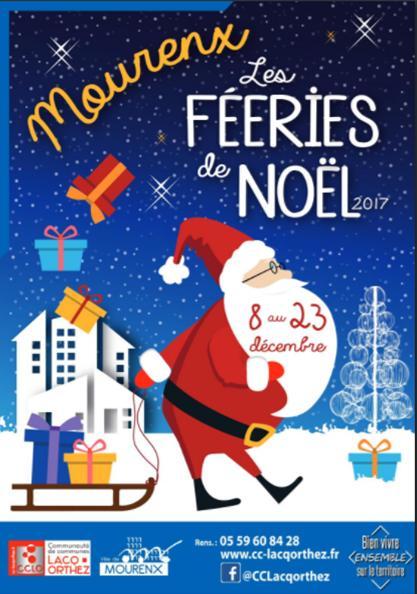 Les Fééries de Noël - Marchés festifs - MOURENX