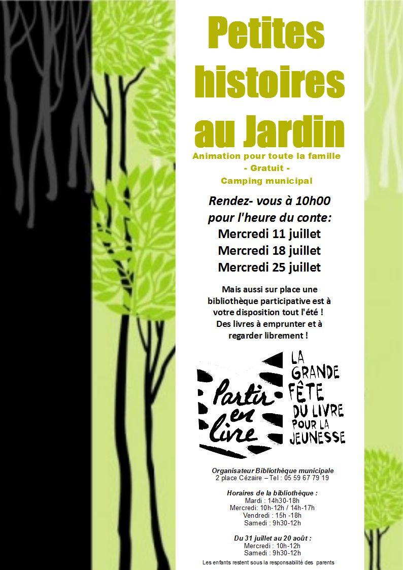 Petites histoires au jardin - ARTHEZ-DE-BEARN