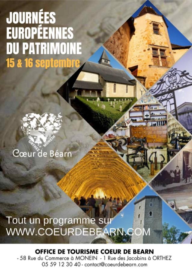 Journées européennes du Patrimoine : Visite guidée Lucq-de-Béarn - LUCQ-DE-BEARN