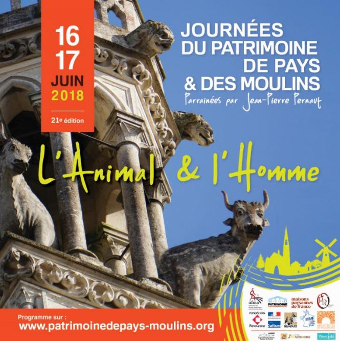Journées du Patrimoine de Pays et des Moulins - MONEIN