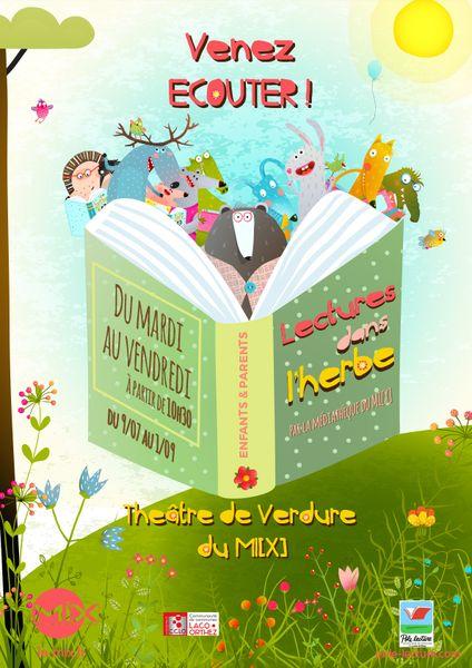 Lectures dans l'herbe - MOURENX