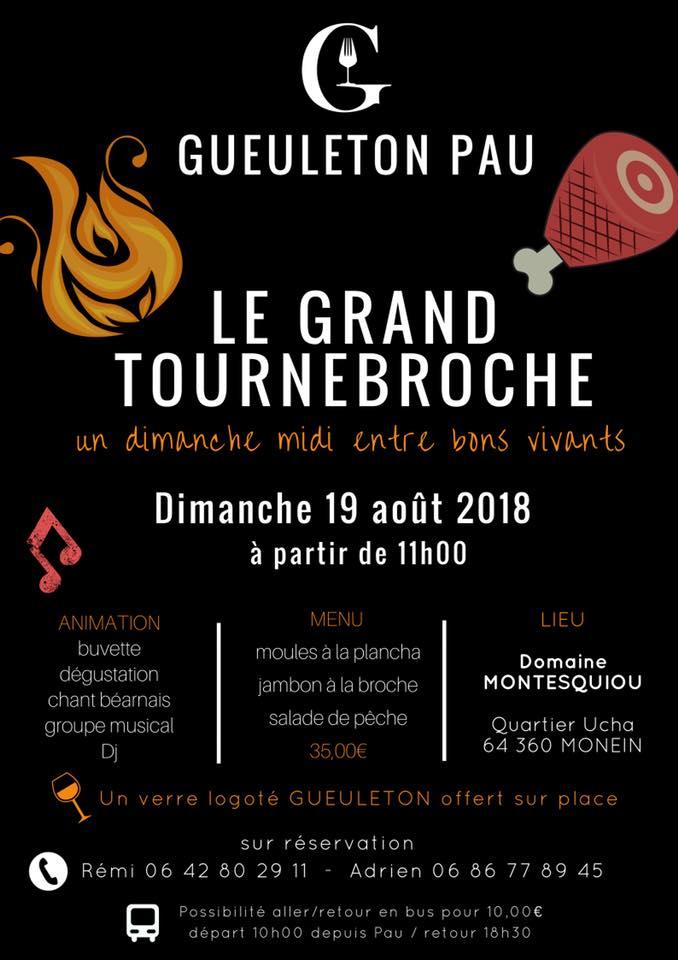 Le Grand Tournebroche - MONEIN