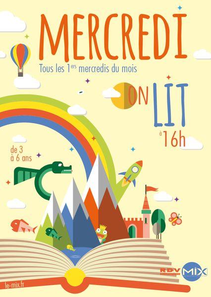 Mercredi on lit ! - MOURENX