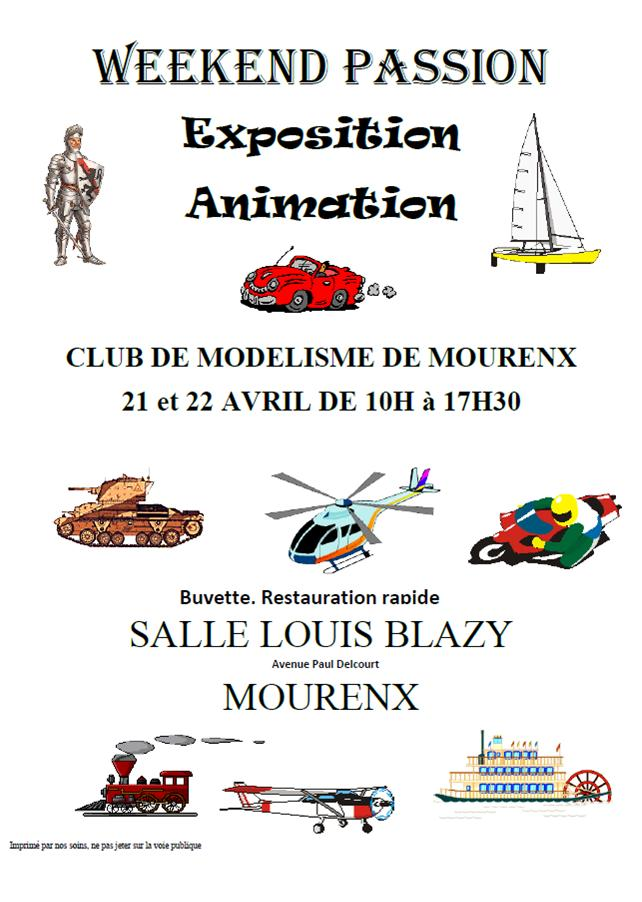 Week-end passion: Modélisme - MOURENX