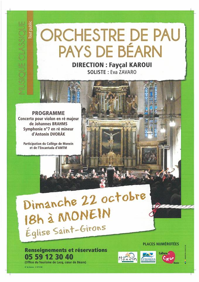 Concert symphonique - MONEIN