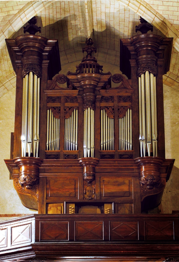 Visite guidée de l'orgue de l'église saint-girons - MONEIN
