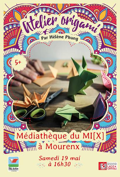 Atelier: Origamis jouets de papier - MOURENX