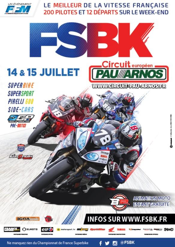 Championnat de France Superbike - ARNOS