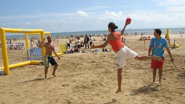 Tournoi de sandball - BIRON