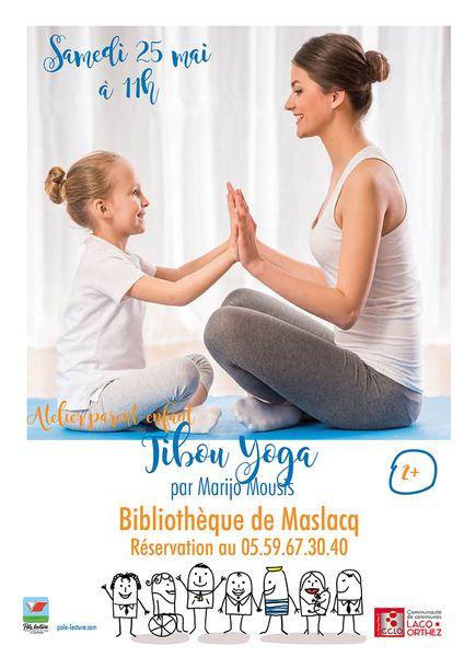 Atelier : Tibou Yoga - MASLACQ
