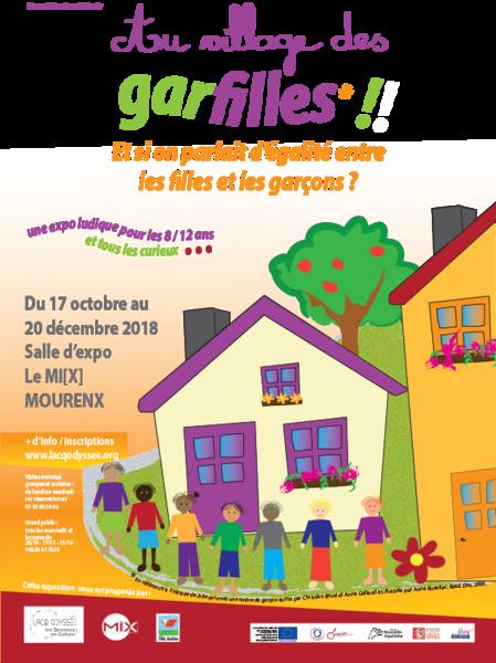 Exposition : Au village des Garfilles - MOURENX
