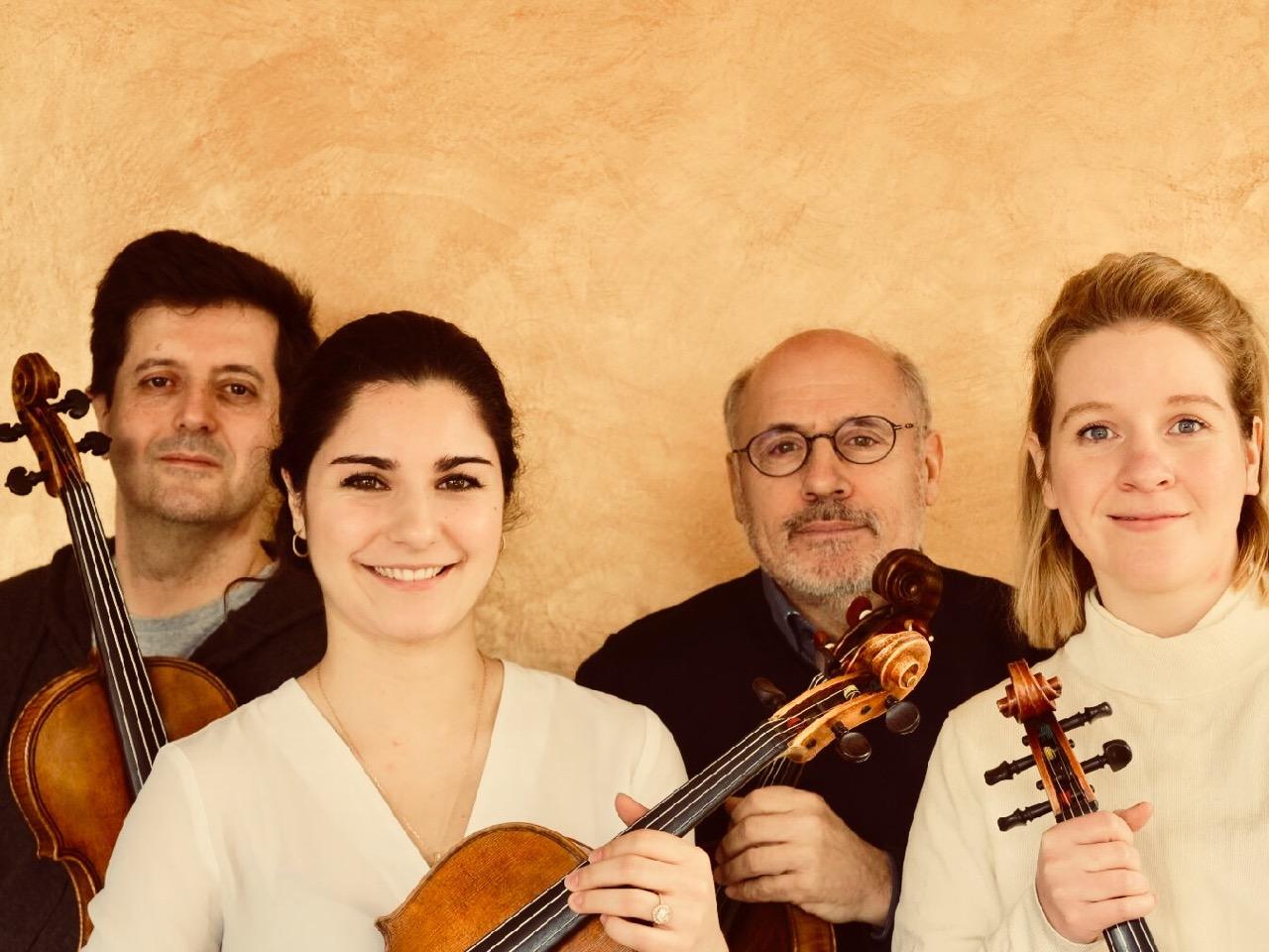 Partitions bucoliques - Concert : Quatuor d'altos Borsarello Viola's Quartet - ARTHEZ-DE-BEARN