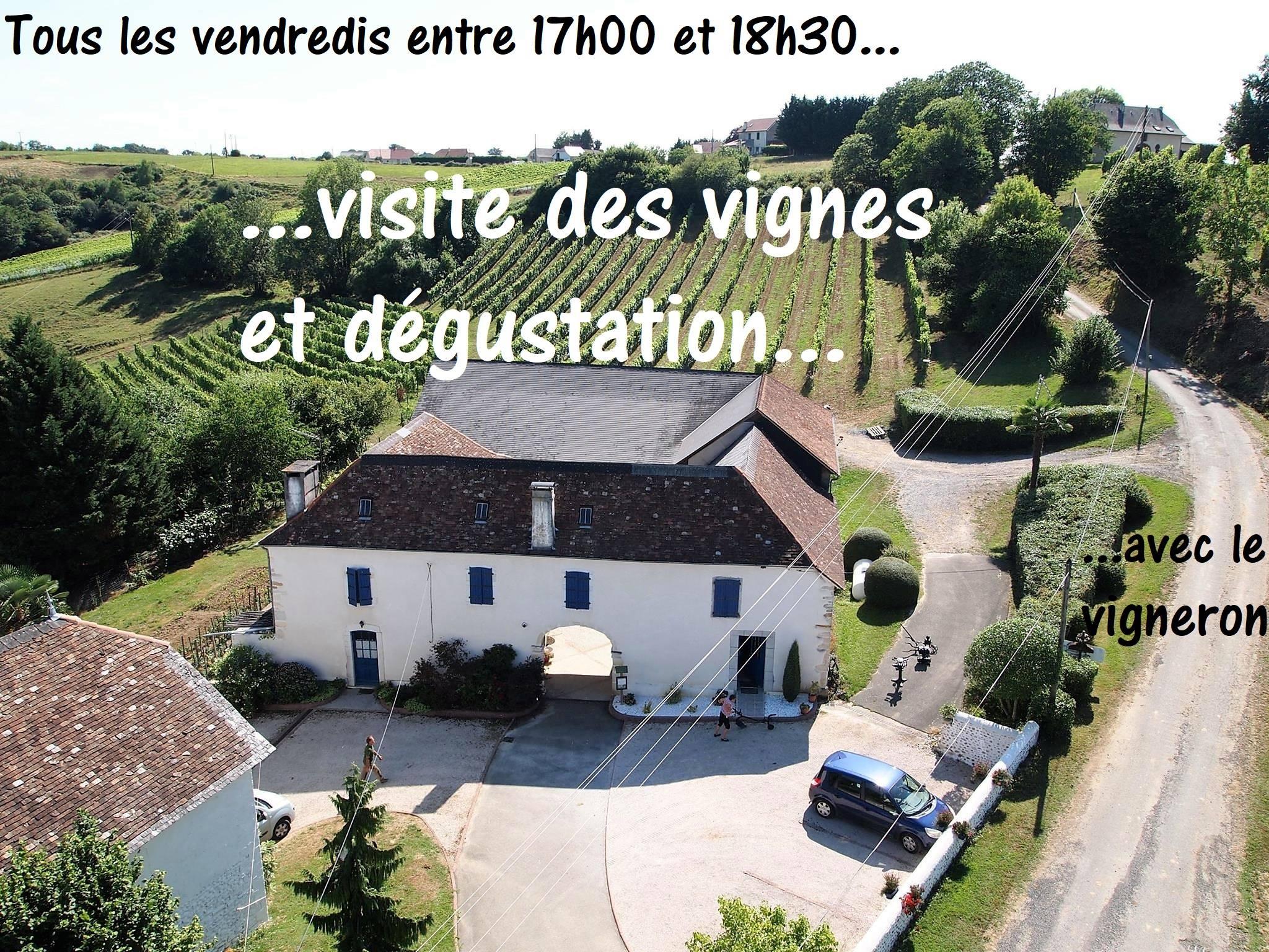 Visite guidée au Domaine Larroudé - LUCQ-DE-BEARN