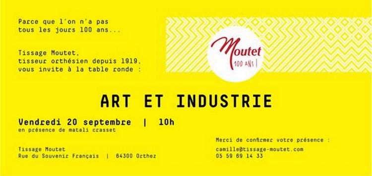 Table ronde : Art et Industrie - ORTHEZ