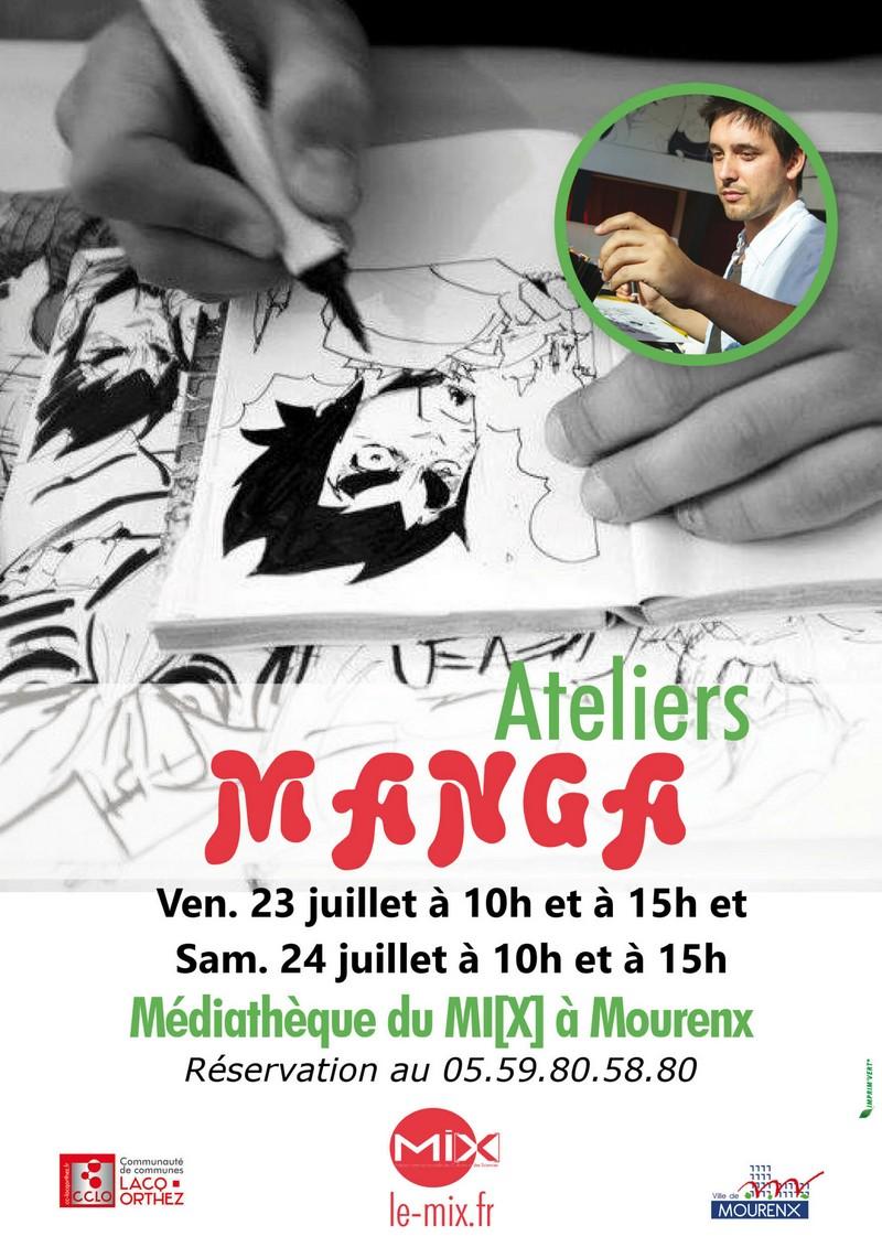 Atelier manga - MOURENX