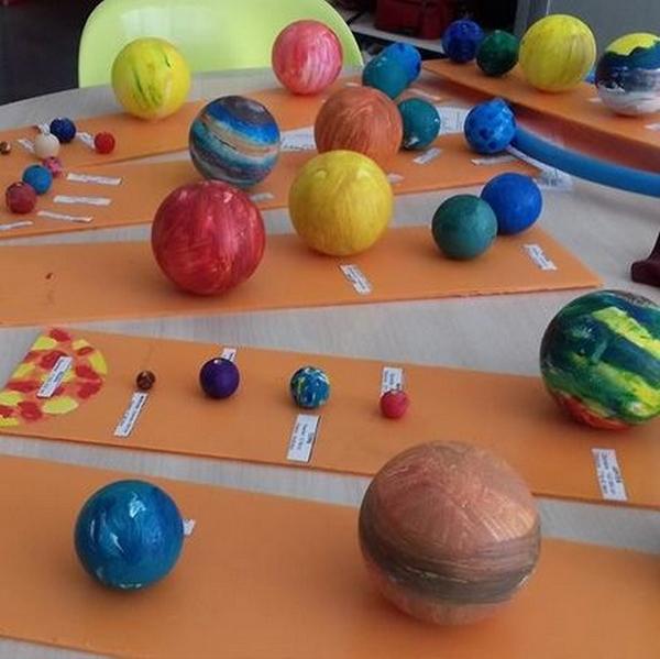 Atelier : Construis ton système solaire - MOURENX