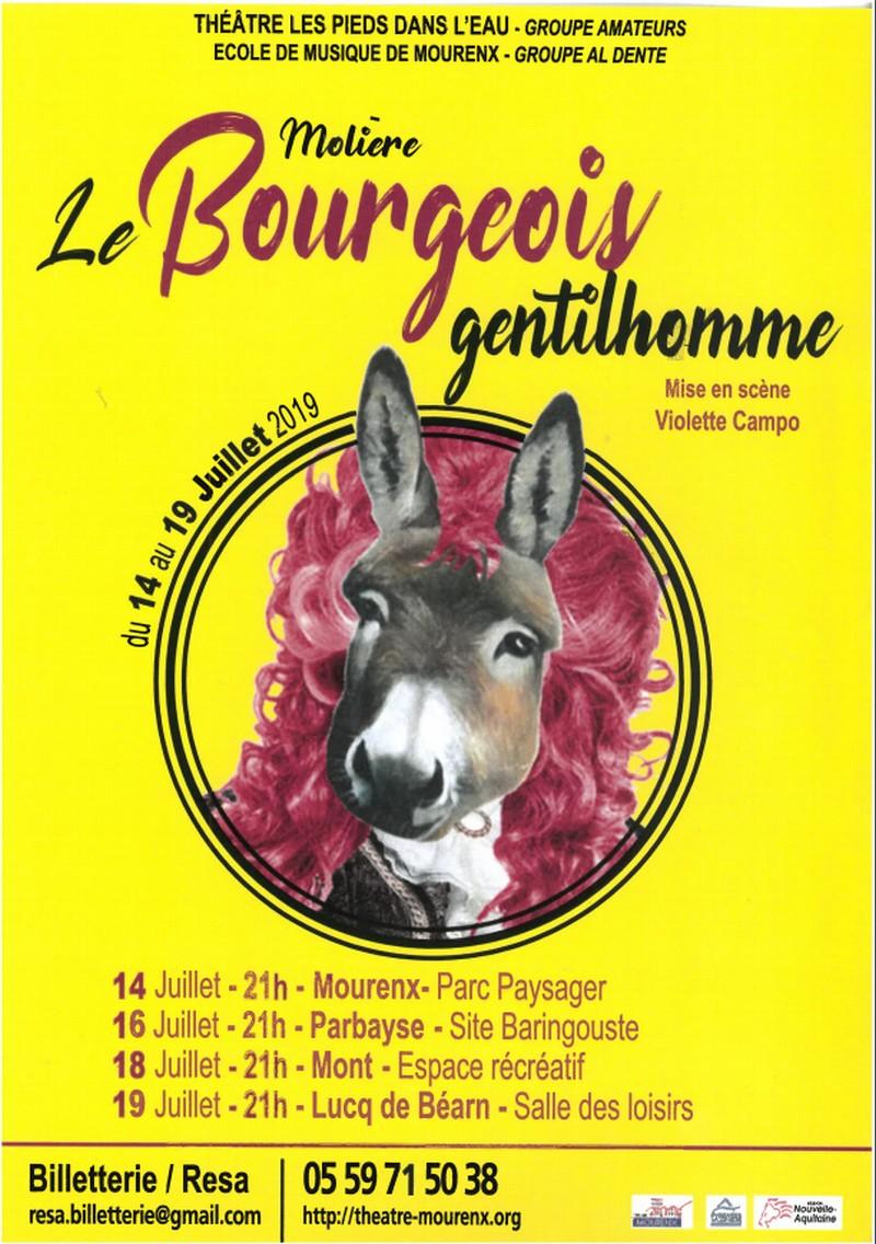 Théâtre : Le Bourgeois gentilhomme - PARBAYSE